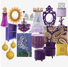decoracao-quarto-infantil-disney-tema-rapunzel