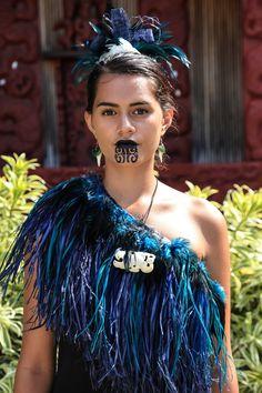 Maori Villager at the Polynesian Cultural Center