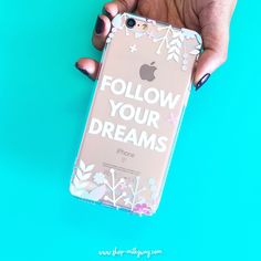 Follow Your Dreams - Clear TPU Case Cover – Milkyway