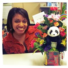 """These are from my sweet husband Matthew Hurley! He had these delivered to my work for my birthday"""