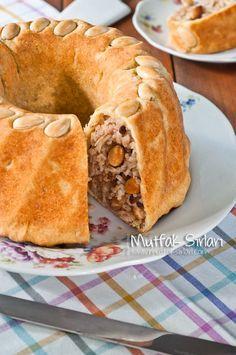 Perde Pilavi. Wonderful pastry ring. Keva xo.