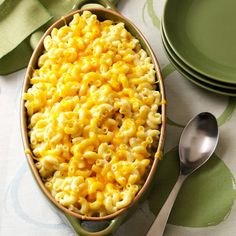Over-the-Top Mac 'n' Cheese Recipe -This delicious dish is the ultimate comfort food. A blend of five cheeses, it makes a beautiful entree or a special side. I served it at our Thanksgiving dinner, and it received rave reviews. —Connie L McDowell, Greenwood, Delaware