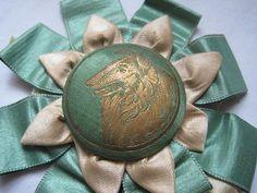 Antique Dog Show Ribbon - 1908 Kennel Club Prize. $24.00, via Etsy.