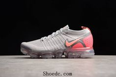 on sale 936da 52642 Nike Air VaporMax 2018 2.0 Flyknit Grey Purple Pink Women Shoes