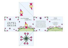 Out of the Box Card Geboortekaartjes Prinsesje Roze