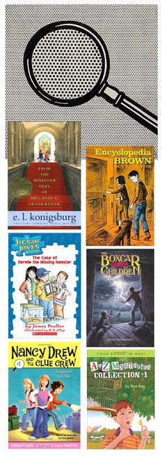 {Book List for Your Little Gumshoe} *My little lady is going to love these mysteries.