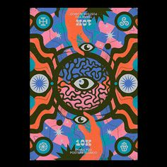 Fan Poster, Kids Poster, Graphic Design Studios, Graphic Design Illustration, Techno, Psychedelic Art, Graphic Design Inspiration, Design Ideas, Illustrations Posters