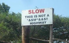 Best of Getaway Funny Signs: spotted on the road | Getaway Travel Blog