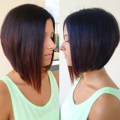 Asymmetrical cut