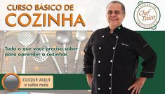 Bacalhau ao parmentier | Vídeo + Receita | Blog do Chef Taico Chef Taico, Milanesa, Polenta, Chef Jackets, Blog, Banner, Coco, Youtube, Recipes