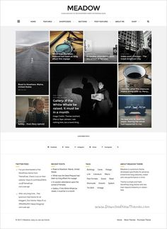 Meadow is a clean and elegant design responsive #WordPress blog #theme for beautiful #blogging websites download now➩ https://themeforest.net/item/meadow-beautiful-modern-personal-blog-theme/19137158?ref=Datasata