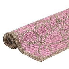 Floorita binnen/buitenvloerkleed Fiore - roze - 160x230 cm   Leen Bakker