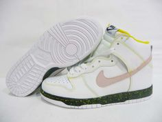 Nike Dunk High 08 ND Swan Anthracite Volt Yellow