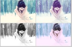 100 Free Photoshop Actions & how to make your own