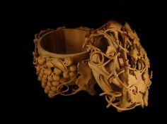 Grape jewelry box by Nairi Safaryan Wood Carving Art, Wood Art, Wood Carvings, Wooden Jewelry, Jewelry Box, Wood Sculpture, Sculptures, Meerschaum Pipe, Got Wood