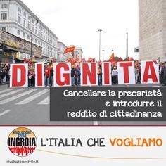 L'Italia che vogliamo - Mai più precaria (589×589)