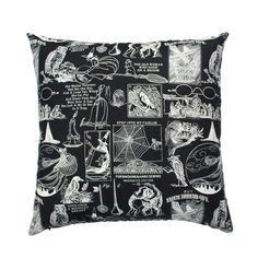 "Spooky Witchcraft ""Eye Of Newt"" Handmade Cushion"