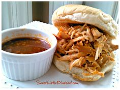 Crock-Pot Pulled Chicken (Great for Sandwiches, Wraps, Salads & Pizza)