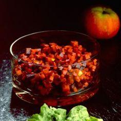 Salat med æble, rødbede og selleri