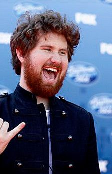 Casey Abrams returned to the American Idol stage two weeks ago. (FOX Photo)