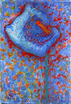 Fine Art Print-Arum Lily, Creator: Mondrian, Piet Fine Art Print on Paper made in the UK Piet Mondrian, Art Et Nature, Art Occidental, Art Ancien, Dutch Painters, Dutch Artists, Art Moderne, Art Abstrait, Western Art