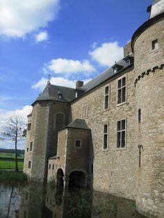 Castle of Lavaux-Sainte-Anne. Belgium