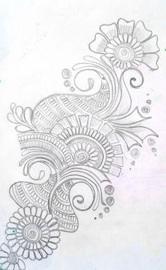 Mehndi Designs For Kids, Latest Arabic Mehndi Designs, Back Hand Mehndi Designs, Mehndi Designs Book, Mehndi Design Photos, Unique Mehndi Designs, Wedding Mehndi Designs, Mehndi Designs For Fingers, Beautiful Mehndi Design