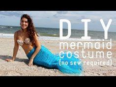 DIY Mermaid Costume ° Halloween 2013