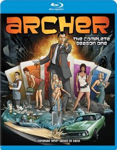 Archer Blu-ray Season 1 (D) #RightStuf2013