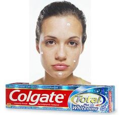 colage total toothpaste against acne
