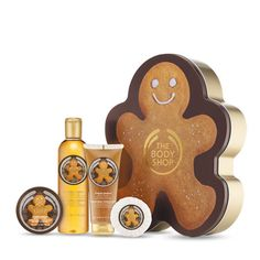 Ginger Sparkle Shower,Scrub & Moisture Collection | Christmas | The Body Shop
