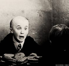 "This is meh face when I see Tom! "" aweee!!! HERES THE CUTEST GUY EVER!!!""  That's meh little Draco!"
