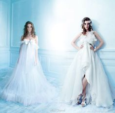 New York wedding dress and Woodstock bridal gown from Max Chaoul spring summer 2009 rock n roll collection