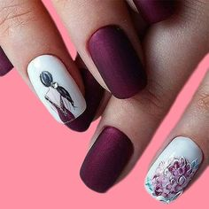 30 Awesome Image of Simple Winter Short Nails Art Design Ideas, Simple Winter Short Nails Art Design Ideas 39 Simple Winter Nails Art Design Ideas 17 Winter Nail Art And, , Acrylic Nail Designs, Nail Art Designs, Acrylic Nails, Marble Nails, Short Nails Art, Trendy Nail Art, Ballerina Nails, Elegant Nails, French Tip Nails