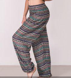 BoHo Stripe Harem Pants