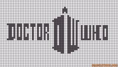 Doctor Who logo pattern