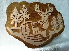 Check out this item in my Etsy shop https://www.etsy.com/listing/208382761/deer-plaque-wall-decor