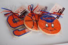 Items similar to Syracuse Orange Basketball Sugar Cookies on Etsy Syracuse Basketball, Basketball Season, Basketball Cookies, Trunk Party, Crazy Cookies, Ball Birthday Parties, Syracuse University, Summer Cookies