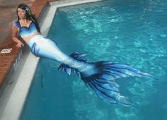 Alasea the Blue Mermaid