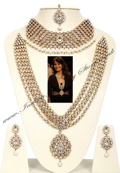 Indian Jewellery & Bridal Jewellery | Buy - American Dimaond Bridal Sets - NAWA03910