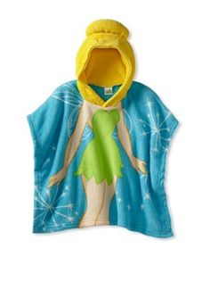 This Tinkerbell Hooded Poncho (Toddler) is perfect for my sweet little valentine=) Love this!