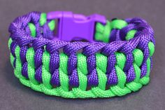 """How to Make the """"Wide Genoese"""" Paracord Bracelet with Buckle - BoredPara..."""