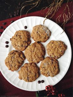 Living the Gourmet: Chocolate Chip Winter Cookies   #HolidayRemix #BakeSomeonesDay #ad