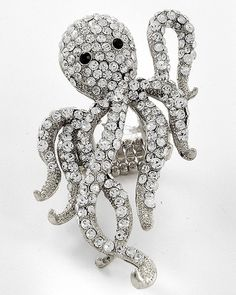 Octopus Ring up for Top Hatter Auction this Saturday! :)