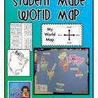 This is a complete set to have your students create their own World Map.  Continents are scaled to fit on poster sized tagboard.  Included are all ...