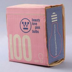 Very cool Packaging designed by Paul Rand for westinghouse