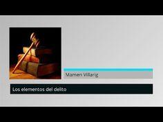 Elementos del delito - Clases MasterD - YouTube