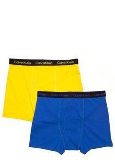 Calvin Klein  2-Pack Bold Boxer Briefs Underwear Boys 4-20