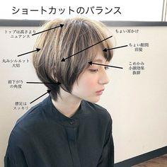 Pin on ヘアスタイル Asian Short Hair, Girl Short Hair, Short Hair Cuts, Short Hair Styles, Boy Hairstyles, Pretty Hairstyles, Androgynous Hair, Asian Haircut, Hair Arrange