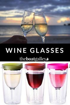 The Best Wine Gles For Your Boat Whether You Want Gl Stemware Unbreakable Stemless